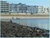 Strandhaus VIKTORIA vom Strand aus gesehen