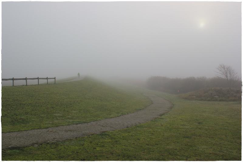 Norderney im Nebel