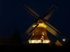 Norderneyer Mühle mit Christbaum