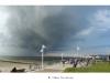 Drohendes Unwetter überm Weststrand
